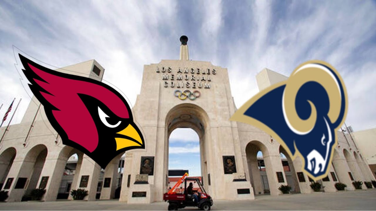 Rams Beat Cardinals in Team's Final Game at L.A. Coliseum Before ...