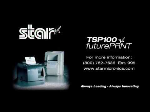 Star TSP100futurePRNT - How to Change Printed Font