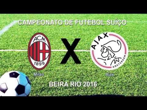 Camp Beira Rio 6ª RODADA MILAN 1 x 0 AJAX