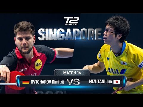 Dimitrij Ovtcharov Vs Jun Mizutani | T2 Diamond 2019 Singapore