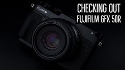 Getting our hands on the Fujifilm GFX 50R and Seattle Camera Store Tour