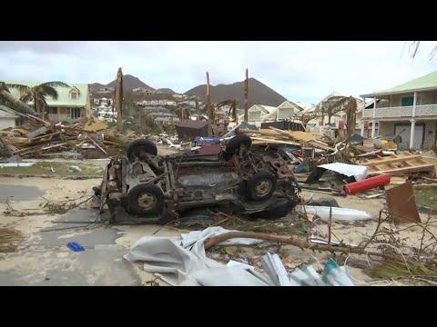 Ouragan Irma: Saint-Martin attend Emmanuel Macron