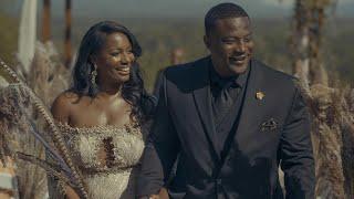 """Survivor"" Contestant Sabrina & Kareem's Gatsby Wedding Video // Longleaf Vineyard - Asheville, NC"