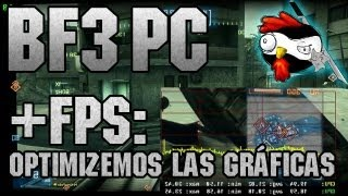 Optimiza Battlefield 3, guía de optimización en PC + FPS!