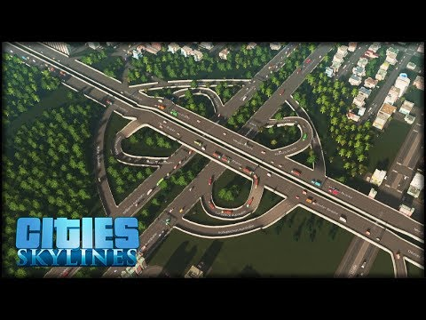 Das beste Autobahnkreuz was ich je gebaut habe   Cities: Skylines #45