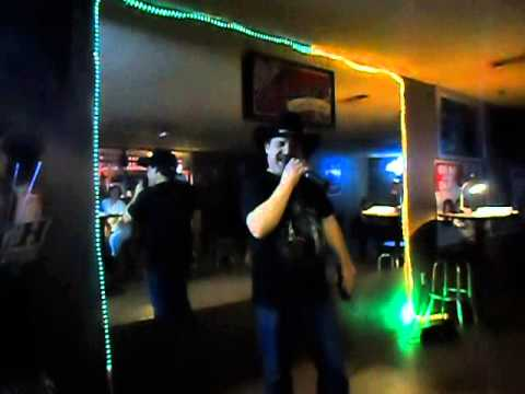 georgia boy karaoke walter singing nothing on but the radio