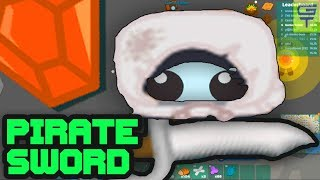 STARVE.IO - PIRATE SWORD!!! // I TRY TO MAKE DEATHRUN