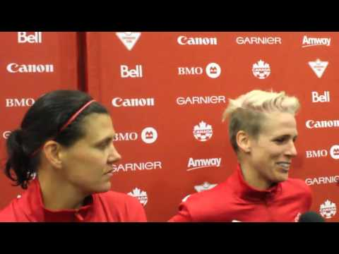 CanWNT 1, England 0- Sophie Schmidt and Christine Sinclair