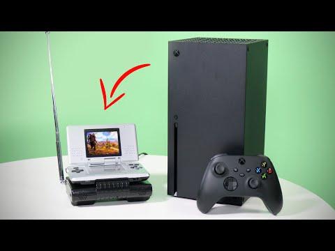 Xbox Series X можно использовать с Nintendo DS