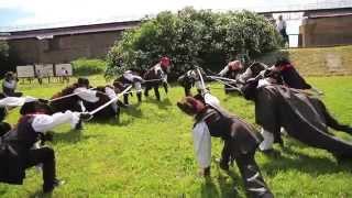 Историческое фехтование Силуэт в крепости Орешек
