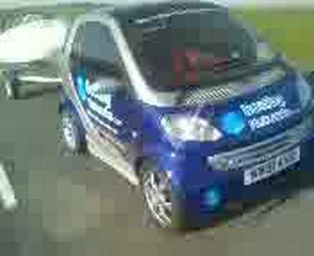 Smart Car Towing A Boat St1 Sd 5995