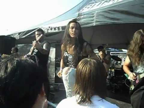 Splatta Fish At Mayhem Fest 2012