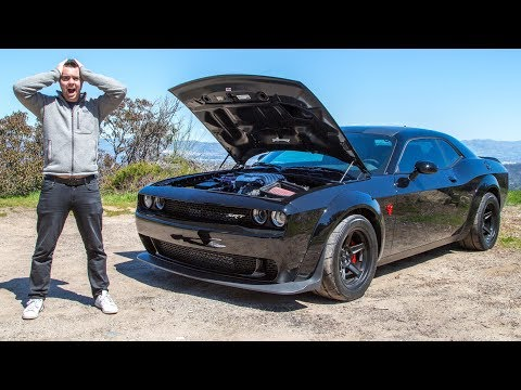 The $85,000 Dodge Demon Is So Fast It Should Be ILLEGAL