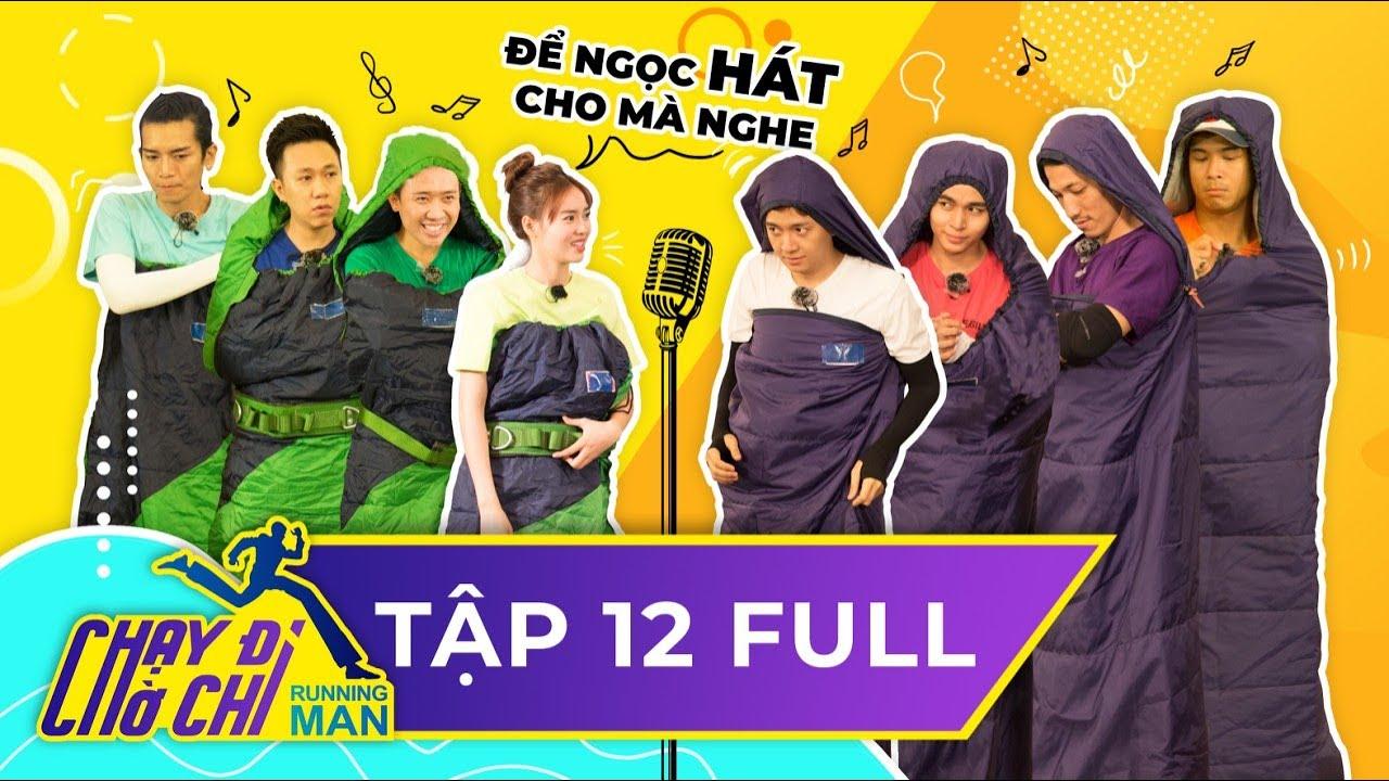 Chạy Đi Chờ Chi|Tập 12 FULL|Trấn Thành, Lan Ngọc hoảng hồn vì chiếc micro kỳ lạ|Running Man Việt Nam