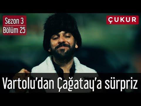 Çukur 3.Sezon 25.Bölüm - Vartolu'dan Çağatay'a Sürpriz