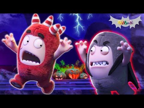 Oddbods | Halloween Roller Coaster Ride | Funny Cartoons For Kids