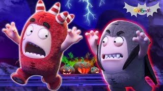 Oddbods | Halloween Roller Coaster Ride | Funny Cartoons For Kids