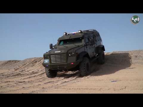 Sentinel TRV Tactical Response Vehicle IAG International Armored Group SOFIC 2017 Special Forces