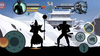 Shadow fight 2 Special edition Ep56 Outcast Challenge Weapon:Kusarigama|Tour:11,12,13 Challeng:5,6,7