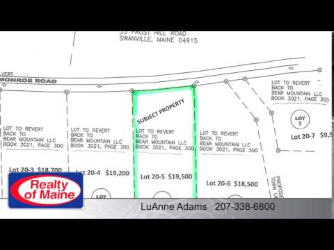 Lots And Land for sale - Lot 20-5 Monroe RD, Swanville, ME 04915