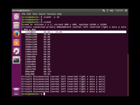 Linux Basics: How to change Screen Resolution in Linux (Command Line