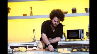 """O nouă șansă pentru Marius Greab, chef bucătar în Sibiu: """"Prima dată m-am bazat pe aspect"""""""