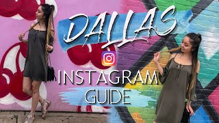 DALLAS Vlog | Where to take pictures in Dallas Texas