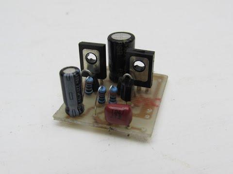 Усилитель звука для колонок своими руками на транзисторах