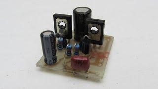 Усилитель звука на транзисторах своими руками