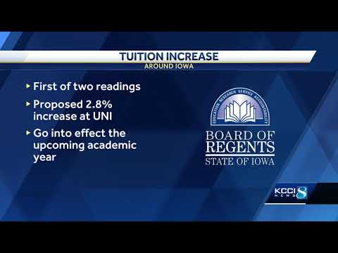 UNI proposes 2.8 percent hike in resident tuition