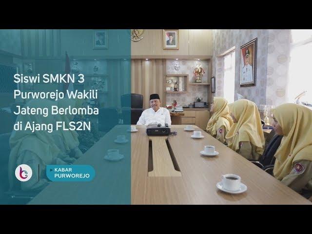 Siswi SMKN 3 Purworejo Wakili Jateng Berlomba di Ajang FLS2N