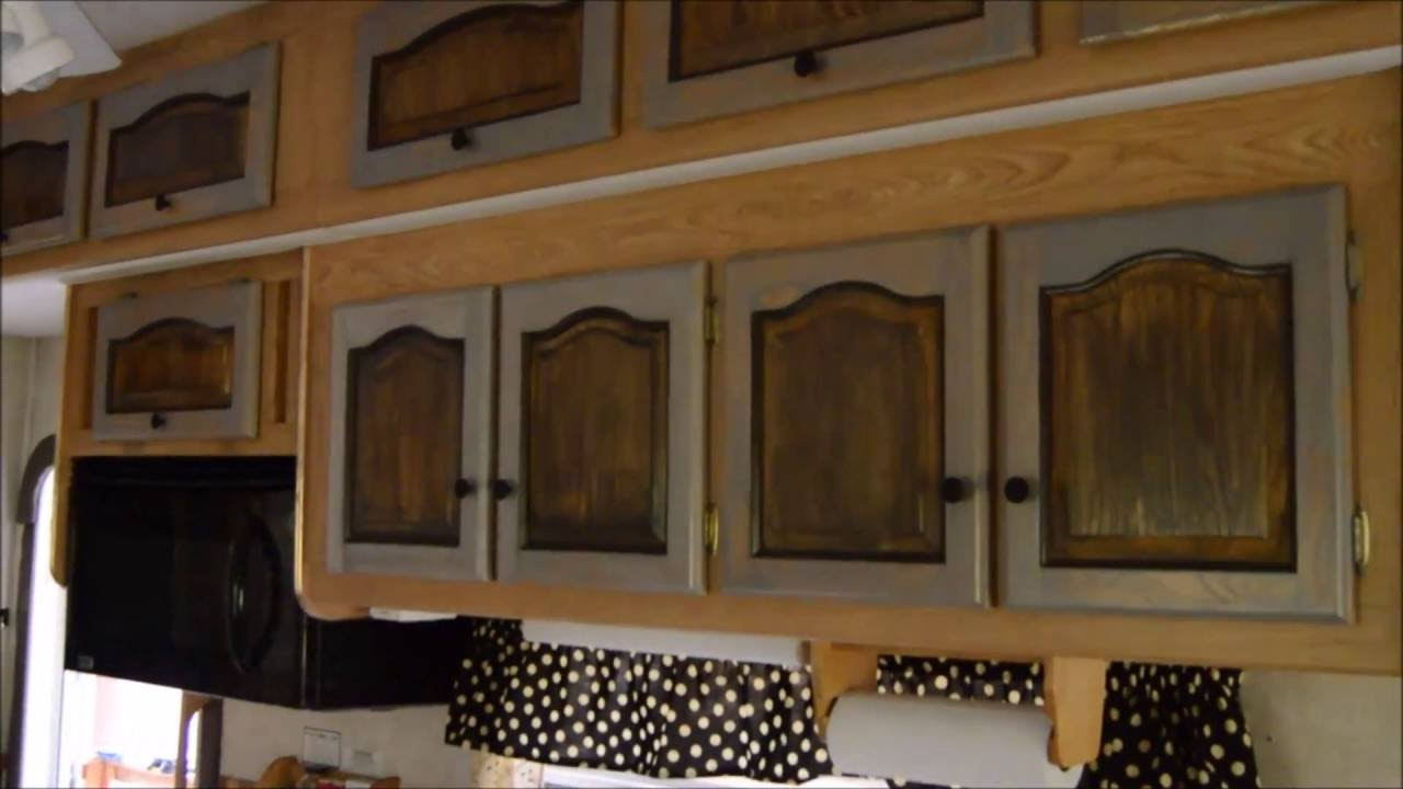 Redo Your Vintage Trailer Cabinets with Chalk Paint  YouTube