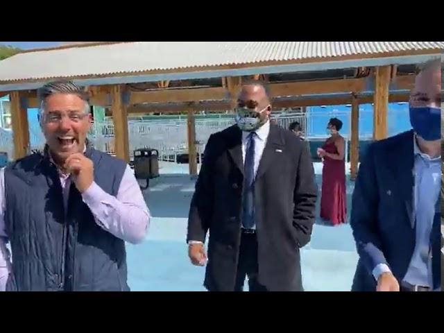 U.S.VETS — Long Beach and Mayor Garcetti Open A Bridge Home