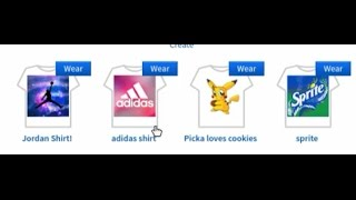 Free t-Shirts on Roblox  Super easy!