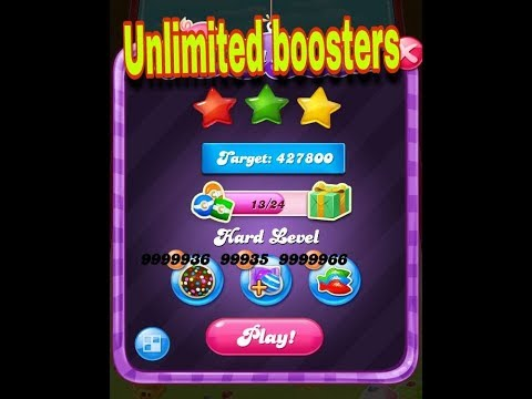 Unlimited Boosters Candy Crush Saga 2018 With Proof