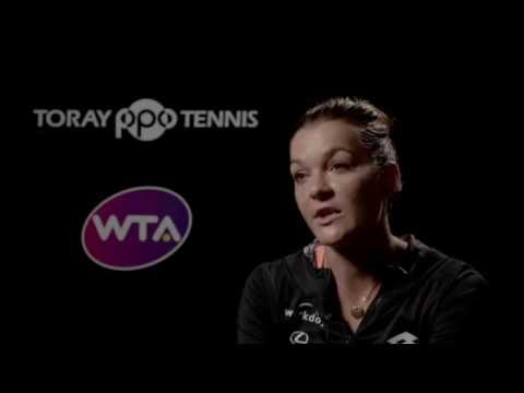 2016 Toray Pan Pacific Quarterfinal Interview | Agnieszka Radwanska
