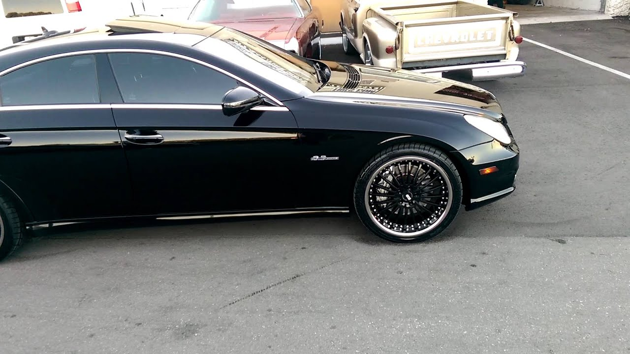 Dubsandtires Com 20 Quot Inch Xo New York Black Chrome Lip Luxury Rims 2008 Cls63 Miami Hallandale