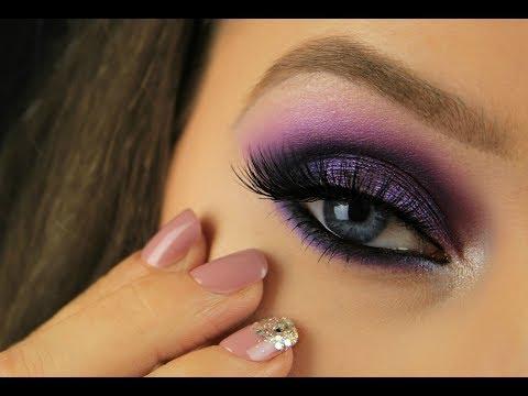 Ultra Violet Smokey Eye   Pantone Colour of the Year 2018