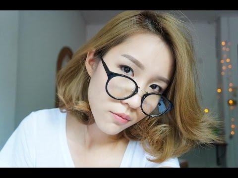 Khwankhong | How-to| Short hair iron curl สอนม้วนผมสำหรับสาวผมสั้น