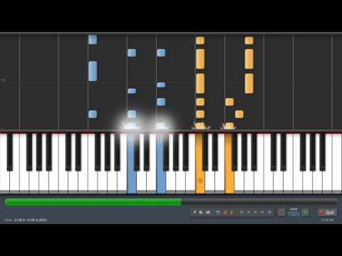 Coldplay  The Scientist  Adrian Lee Version piano tutorial