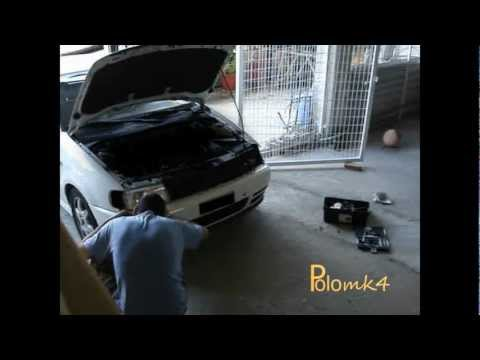 Vw Polo Remove Headlight & Glass