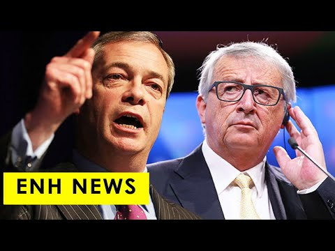 'Outrageous' Farage rips into EU boss Juncker over extravagant £22,500 private jet to Rome