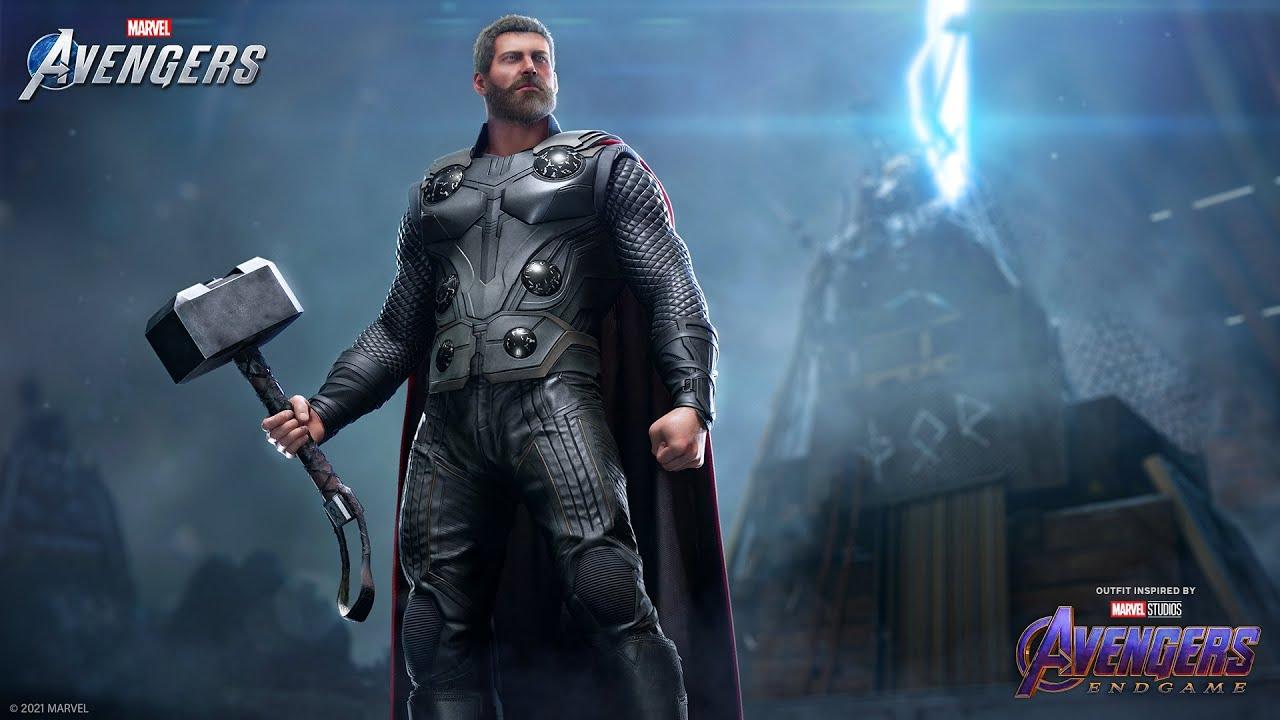 """Marvel's Avengers - Thor's """"Marvel Studios' Avengers: Endgame"""" Outfit"""