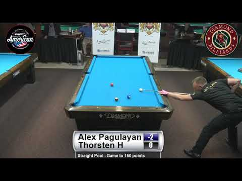 Thorsten Hohmann vs Alex Pagalyan (Best Match) 2017 American 14.1 Championship