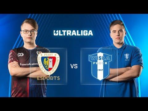 PGE vs WP | Tydzień 6 Dzień 1 | Ultraliga | Piast Gliwice Esports vs Wisła Płock