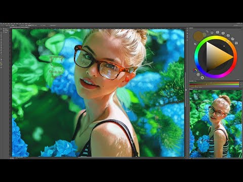 digital painting / sunny garden [ time lapse ]