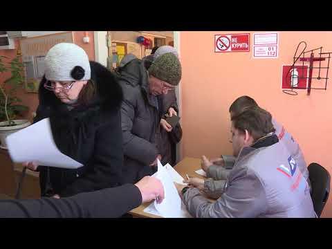 Выборы президента в Порхове и Карамышево