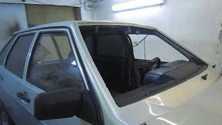 Подготовка и покраска панели ВАЗ 2109