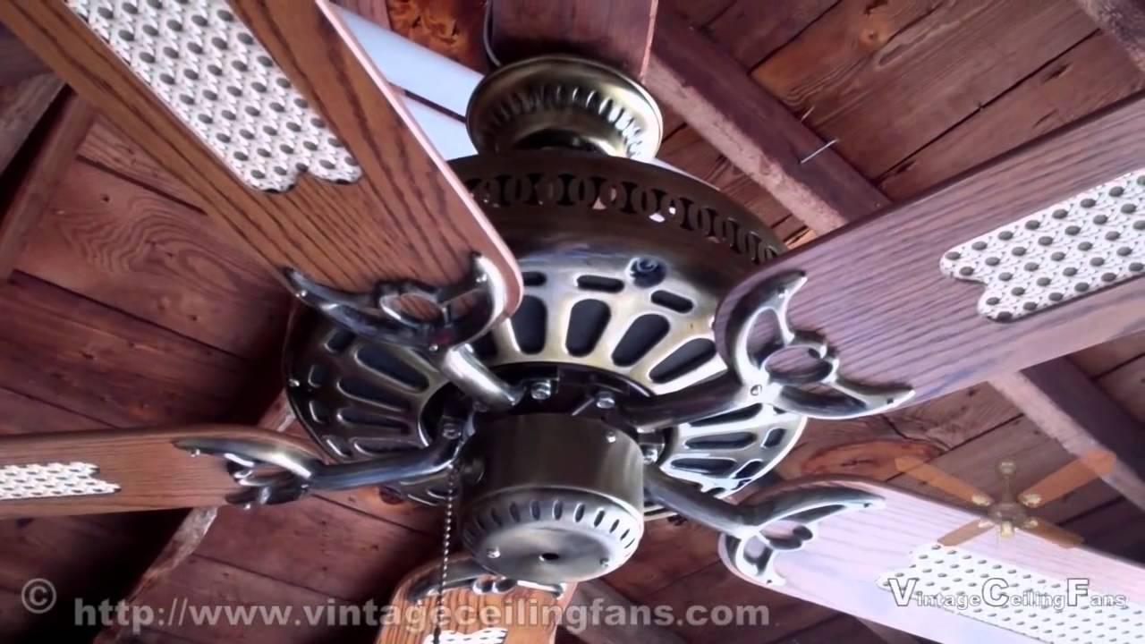 SMC Five Blade GE Vent Ceiling Fan Model A52