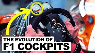 The Secret Evolution of F1 Cockpits